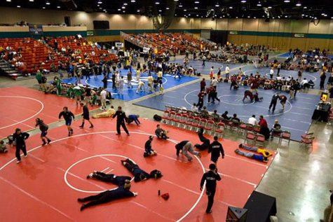Wrestlers prepare for long haul