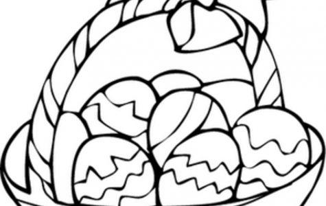 Egg Basket Coloring Page