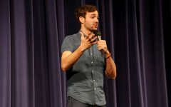 Laughing along with Jeff Dye