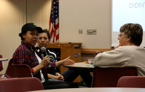 DAPL 'Warriors' speak on campus