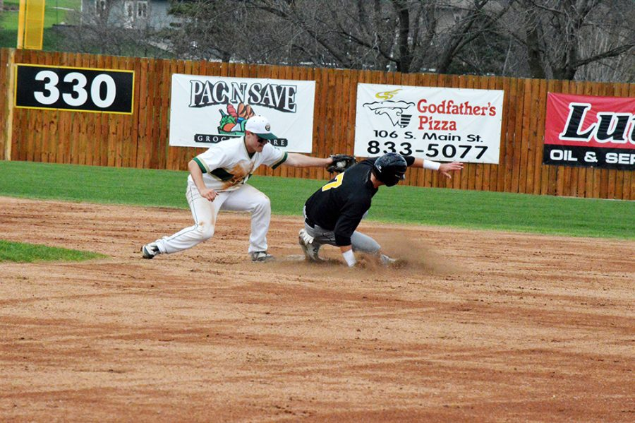 ++The+Wildcat+baseball+team+continues+to+improve.+Their+record+is+now+18-18+overall+and+13-11+in+NSIC.