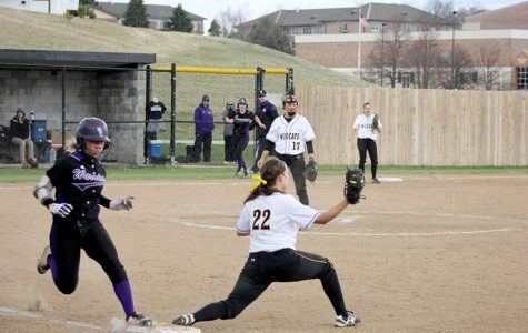 Softball starts NSIC play in a slump