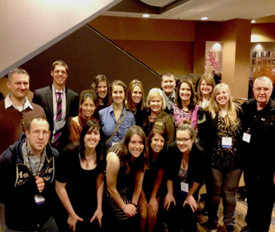 Students from the communication arts department went to Minneapolis this past week for the Central States Conference, where they sat on panels and presented research papers