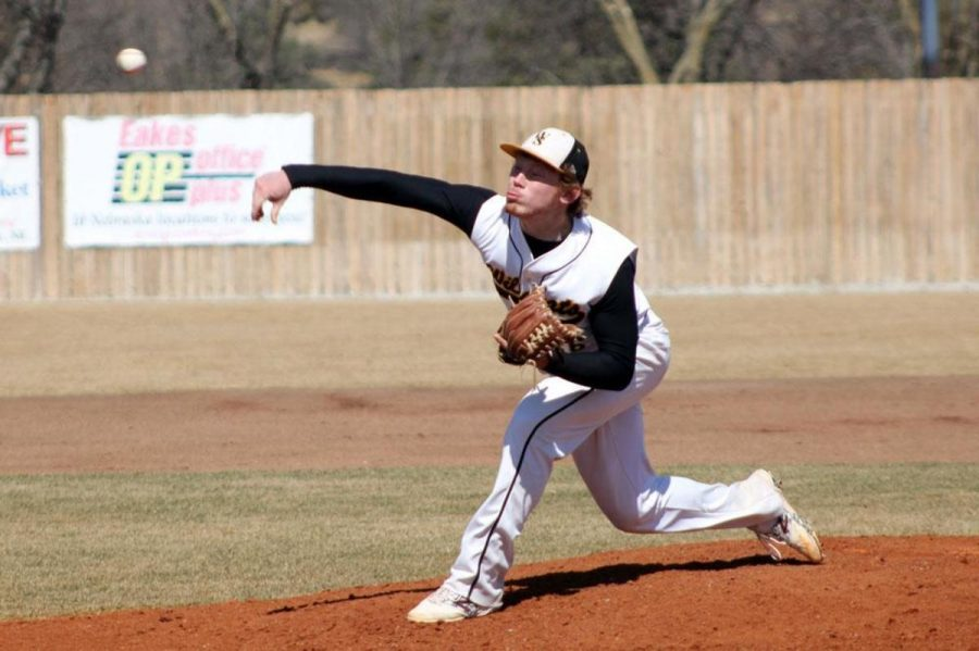 NSIC Preseason Pitcher of the Year, Eric Browning, was 8-3 last year with an ERA of 1.93