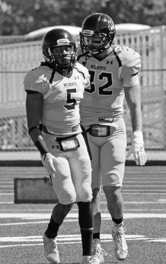 J'Ron Erby celebrates after making a big play during his senior year at Wayne State. J'Ron hopes to continue making big plays at the next level, whether it be the National Football League, the Canadian Football League, or any other professional league looking for his talents.