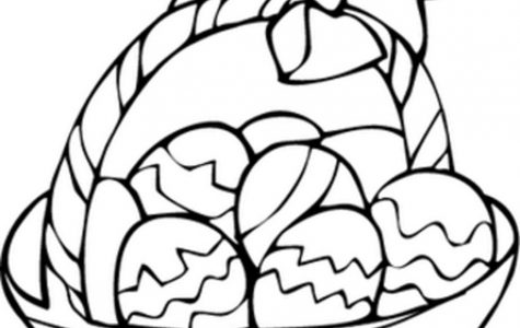 Egg Basket Coloring Page