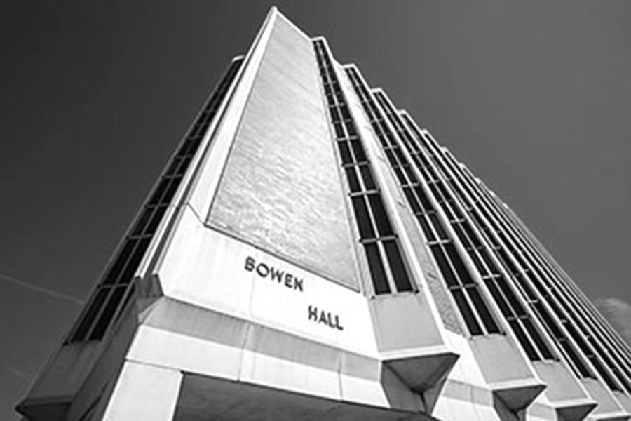 Bowen is the largest dormitory on Wayne State College campus. It can hold up to 445 students and is typically the primary residence hall for freshmen.