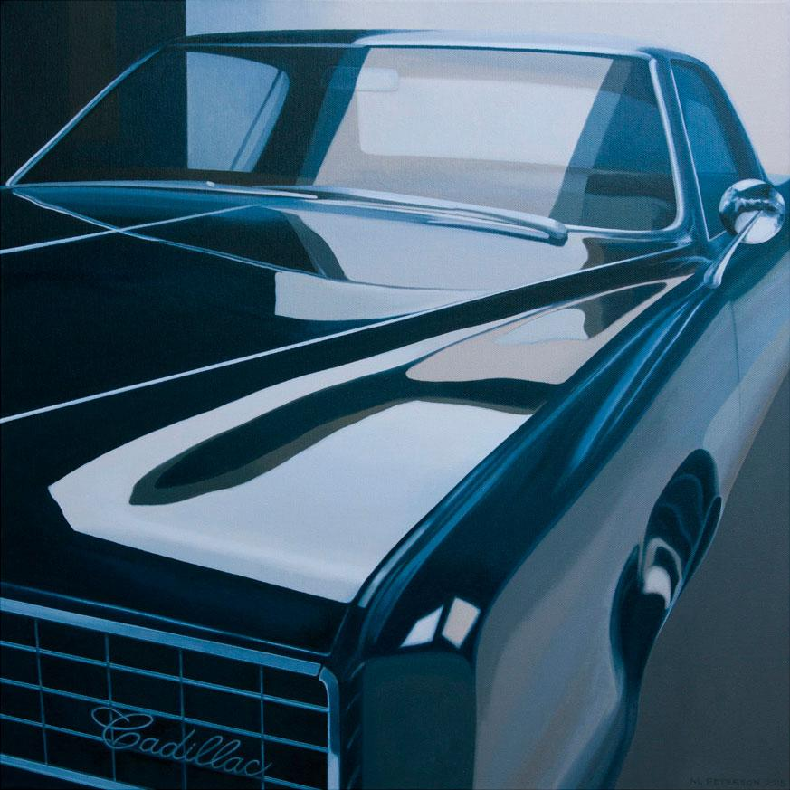 NYC CADILLAC is an example of the work artist Merrill Peterson will be showing at his exhibit in the Nordstrand Visual Arts Gallery Sept. 30 through Oct. 28.