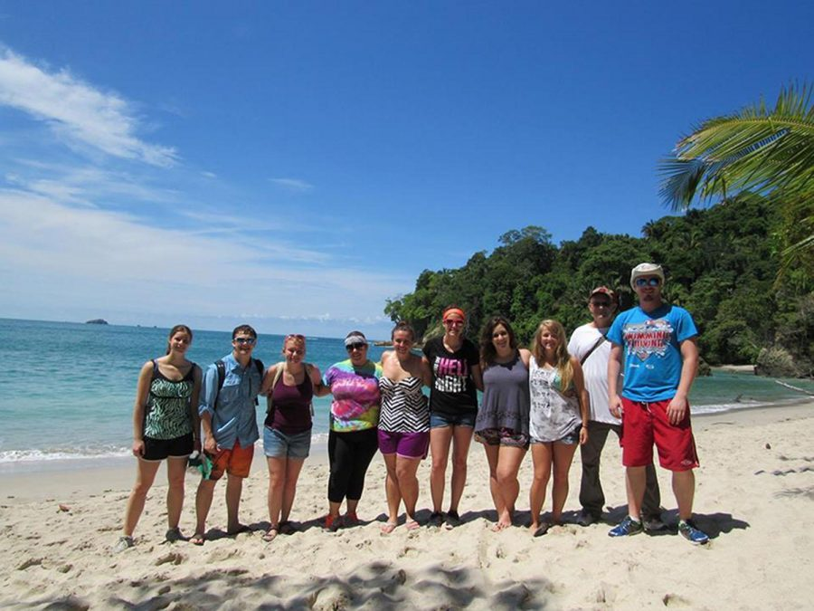 During their month-long trip in Costa Rica, students stayed in San Jose and taveled along the coastal region of Manuel Antonio.
