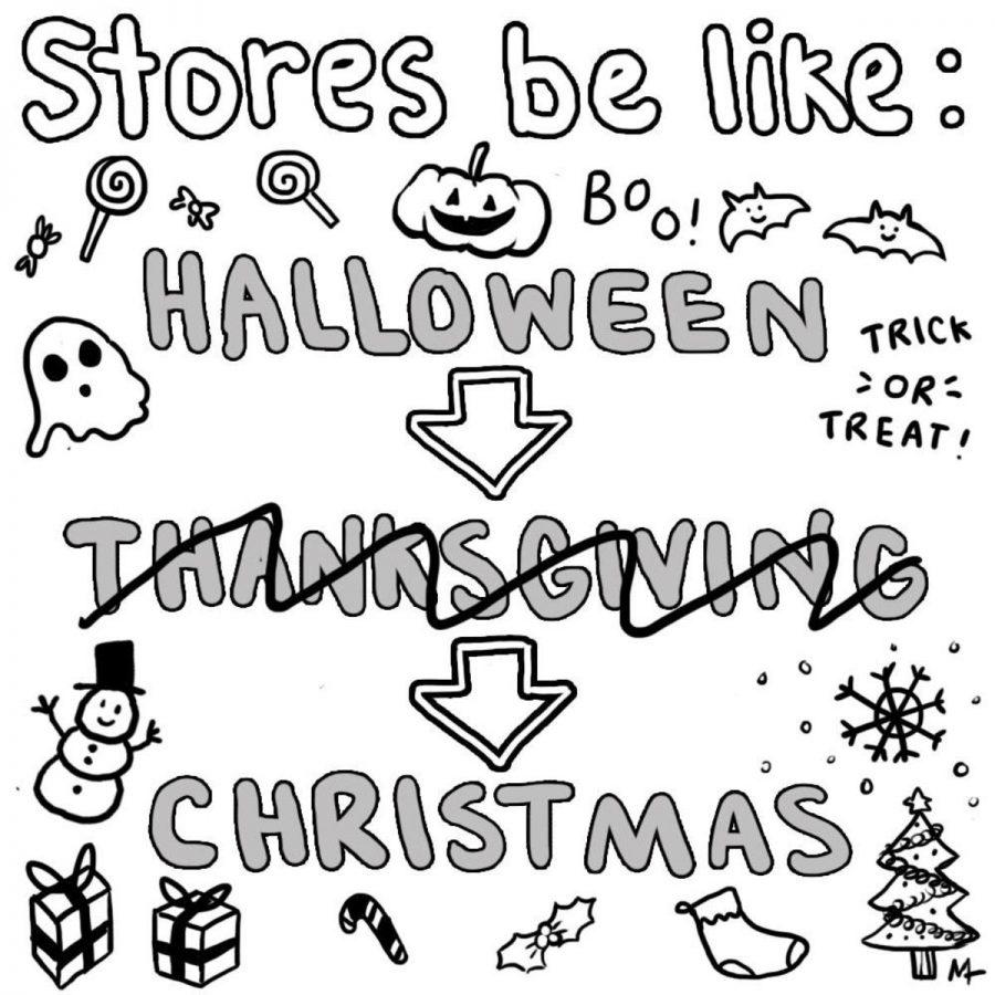 Halloween to Christmas