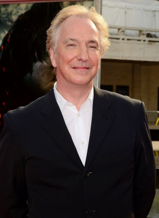 Bitish actor/ theatrical performer, Alan Rickman, died from pancreatic cancer on Jan. 14.
