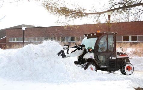 Rare event: snow days