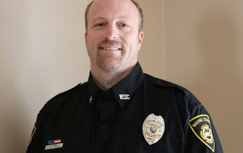 Campus Security Director Jason Mrsny