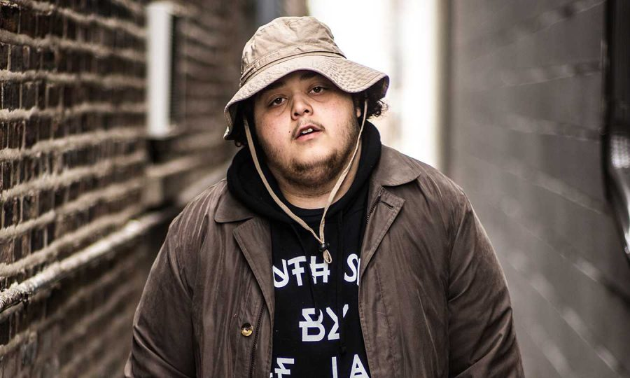 Artist Alex Wiley performed with Calez in Chicago  last week.