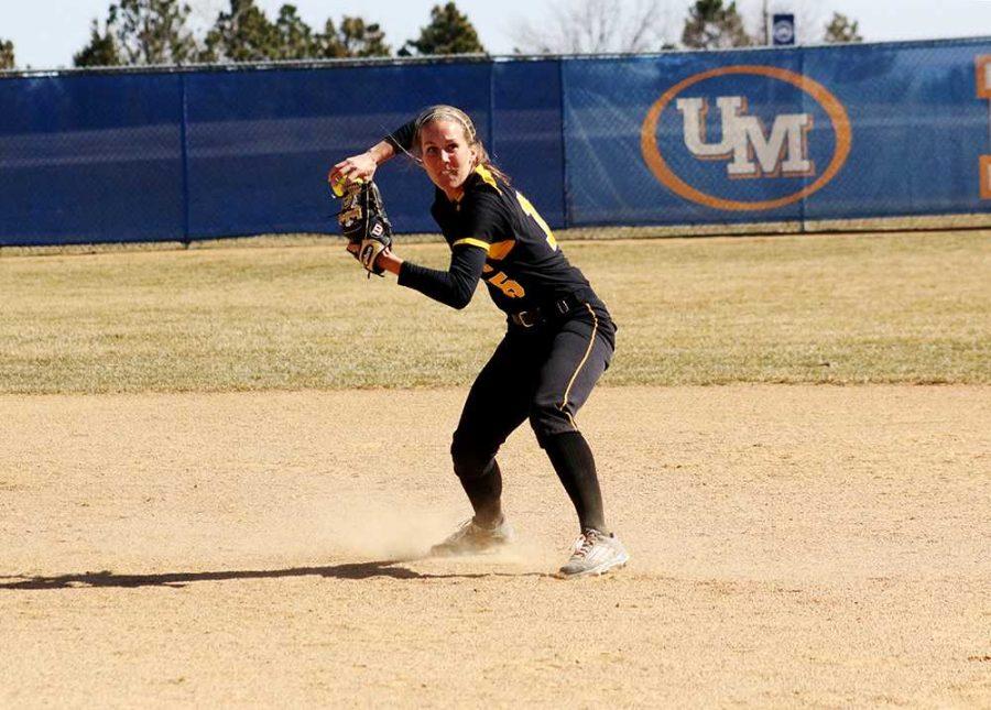 Morgan Hoeg fielding