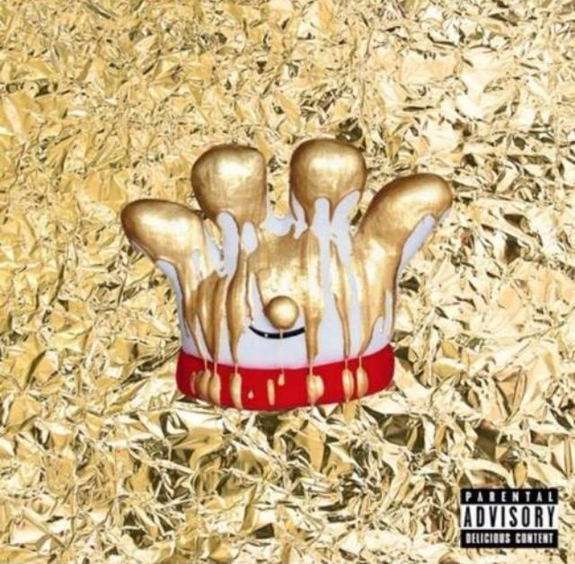 "Lefty (Hamburger Helper's mascot) was shown on the cover of the mixtape ""Watch The Stove"" dripping in gold paint."