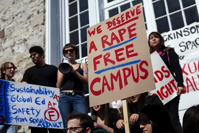 The documentary 'The Hunting Ground' touched on the touchy subject of rape on college campuses.