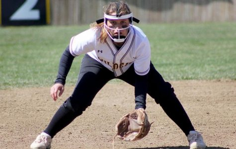 Softball wins four-game series at home