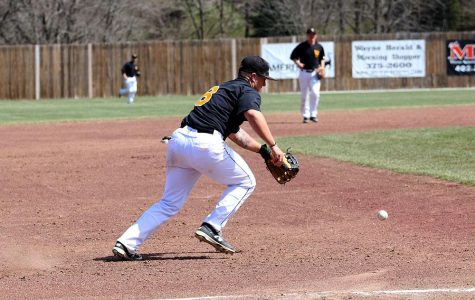 Baseball splits against Winona before four-game cancellation