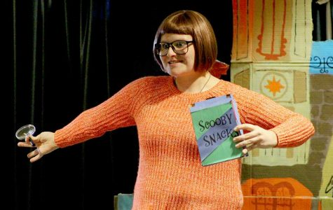 "Former WSC student Brooklyn Svatos cosplays as Velma of ""Scooby Doo, Where Are You!"" fame."