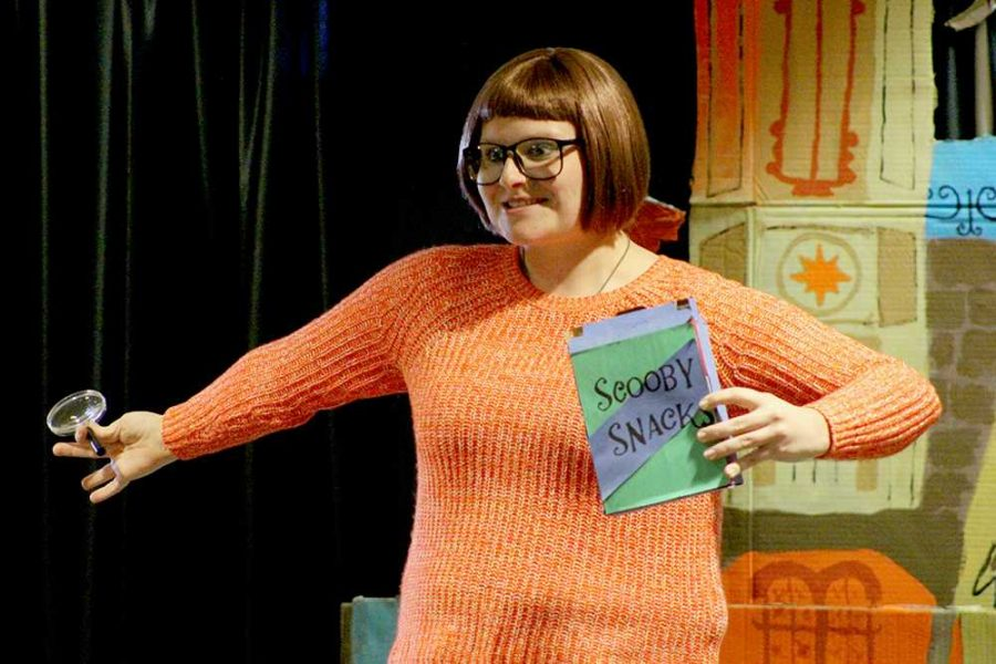 """Former WSC student Brooklyn Svatos cosplays as Velma of """"Scooby Doo, Where Are You!"""" fame."""