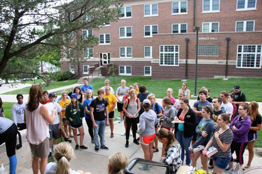 The Honors Club gathered yesterday outside of Morey Hall for its first meeting. Club adviser, Dr. Deb Whitt, led discussions about trips students can take, events they can organize and host as well as officer elections for the 2016-17 school year.