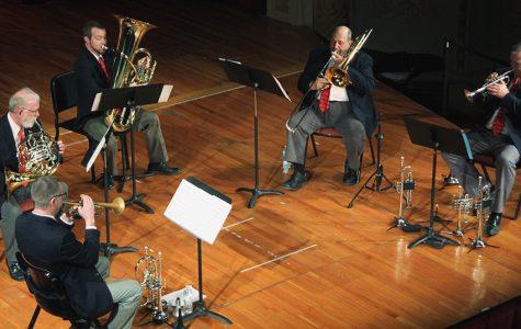 Quintet kicks some brass