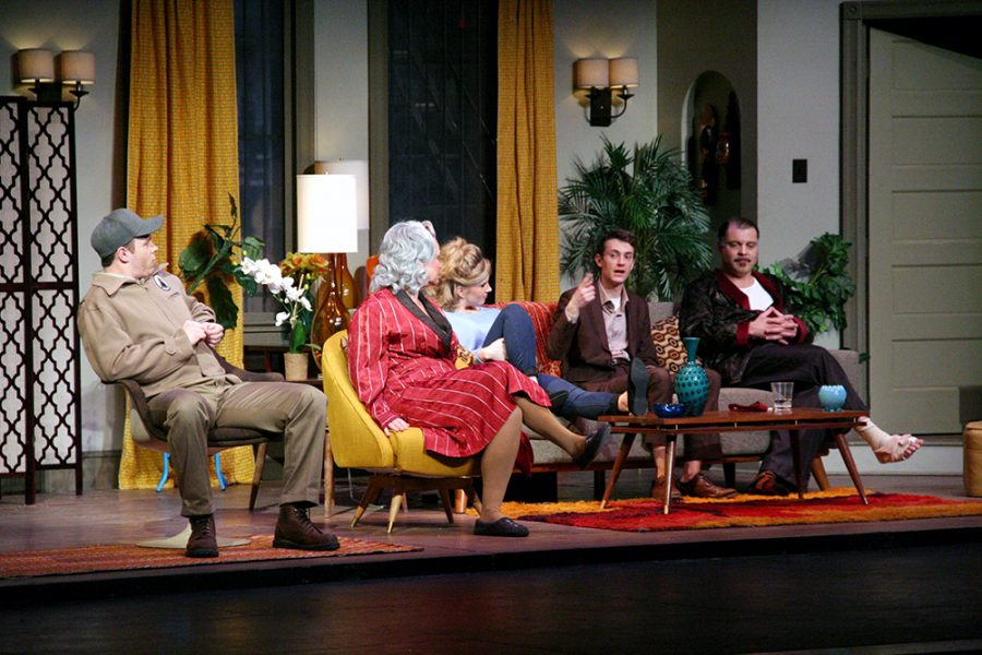 Montana+Repertory+Theatre+came+to+Wayne+to+perform+%E2%80%9CBarefoot+in+the+Park%E2%80%9D+on+Friday+as+part+of+its+50th+Anniversary+tour.+The+cast+did+a+question+and+answer+session+with+the+audience+after+the+show.+