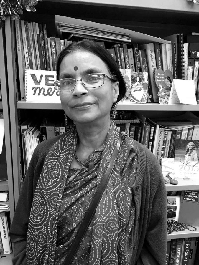 Dr. Meenakshi Dalal spoke about Hinduism at the WSC religious panel last Tuesday.