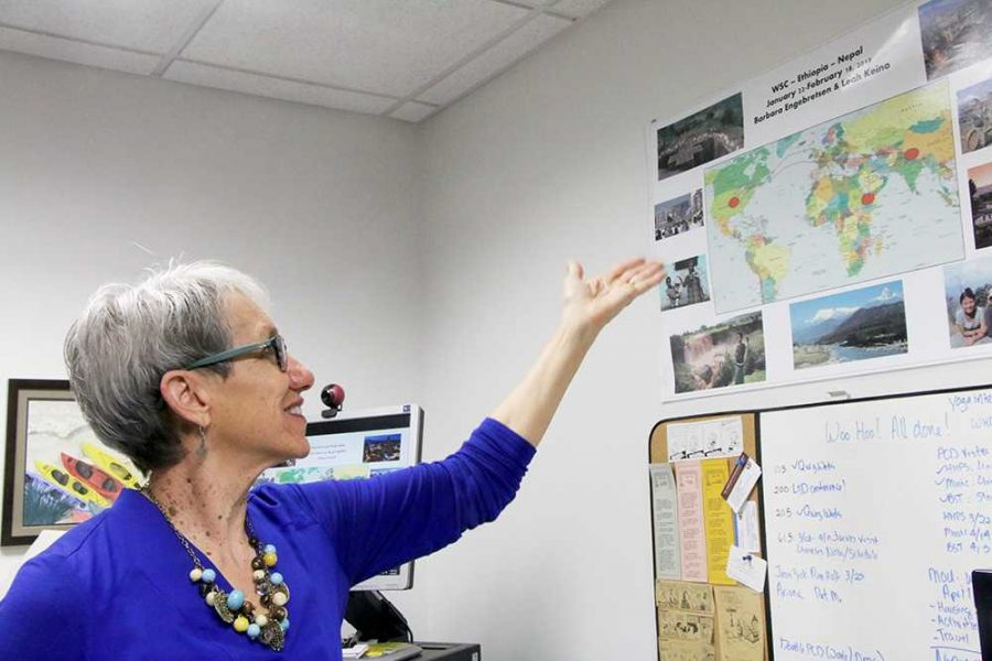 Professor earns award for helping other countries