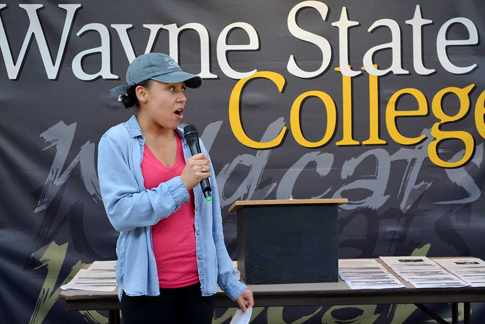 Christina Coffman speaks about Native American students and their importance in society as well as the role model she aspires to be for her community.