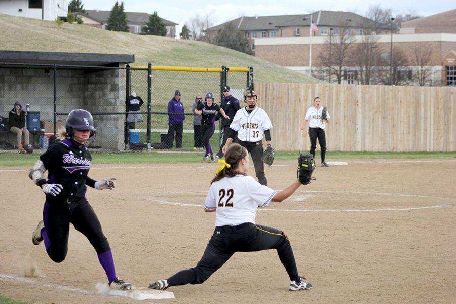 Softball starts NSIC play in a slump