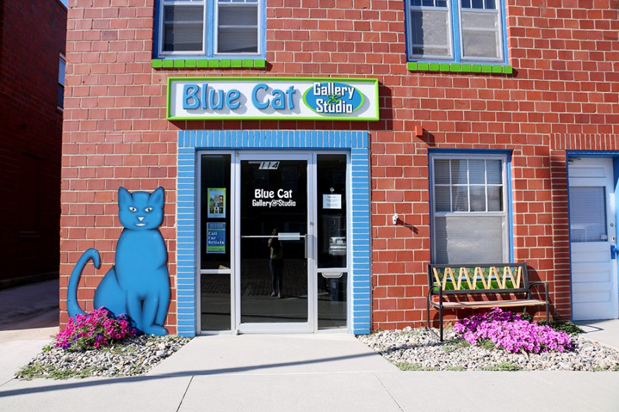The Blue Cat Art Gallery