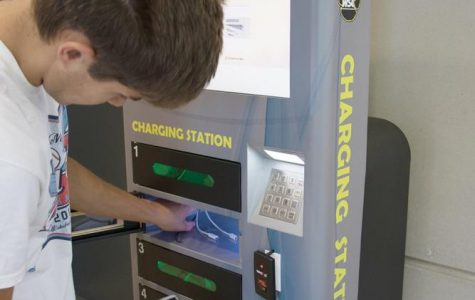 Student senate invests in new charging stations