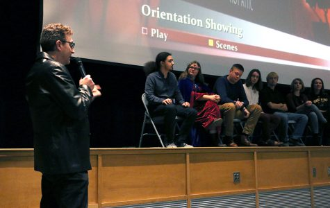 Oreintation is a 'mind messing' student film by WSC students. Hot Attic productions held a premire yesterday to showcase the movie.