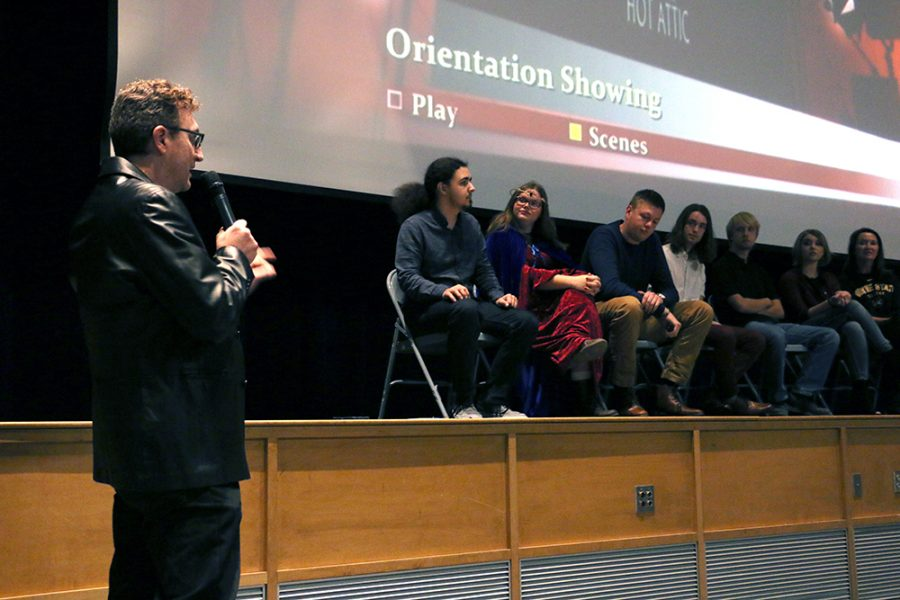 Oreintation is a mind messing student film by WSC students. Hot Attic productions held a premire yesterday to showcase the movie.