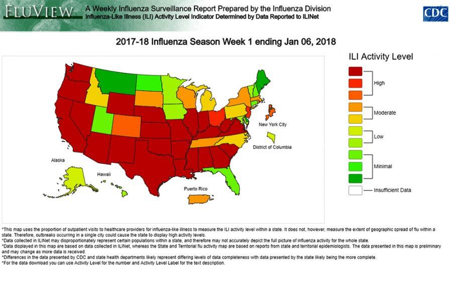 Flu season is especially bad this year