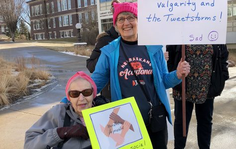 People from Wayne and surrounding areas join for women's march