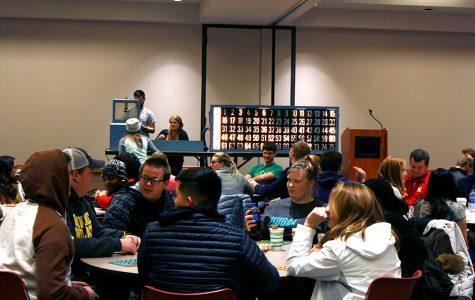 CRU hosts bingo night/barn dance last week