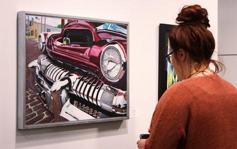 WSC seniors exhibit art