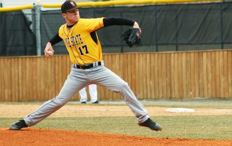Baseball team goes 1-3 over weekend
