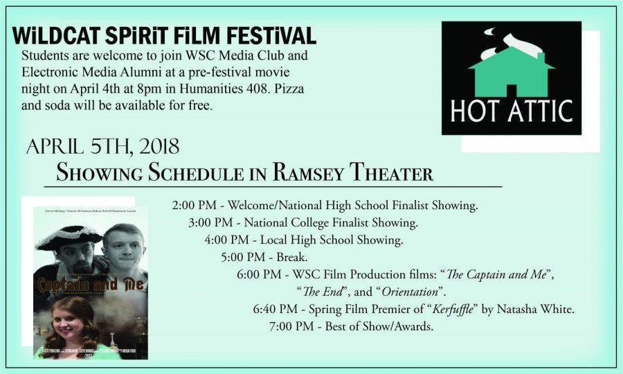 WSC hosts first ever film festival