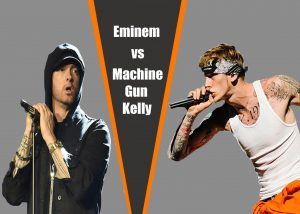 """Eminem restores six-year-old beef with MGK in his newest album """"Kamikaze"""""""