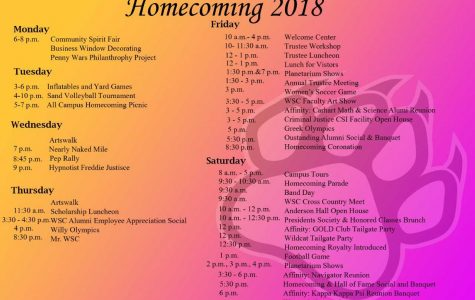 WSC Homecoming: 'Dare to Roar'