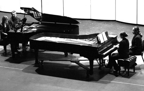 Ramsey Theatre holds performance of pianos