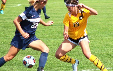 Women's soccer still putting up a fight