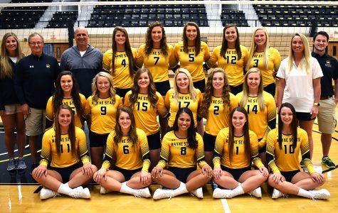 Volleyball starts out on top for the 2018 season