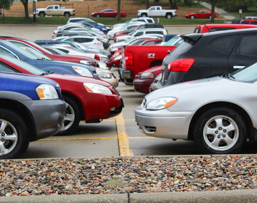 Parking on campus is frustrating for many students and fac- ulty. Some students have resorted to parking off-campus or walking to classes altogether.