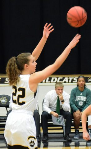 Women's basketball regular season ends with a win