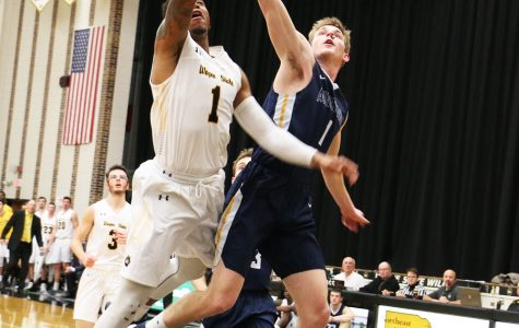 Wayne State men fight for 11-3 record over break